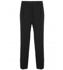 Черные брюки с красными вставками RINASCIMENTO 15417