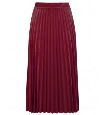 Бордовая плиссированная юбка RINASCIMENTO 83710