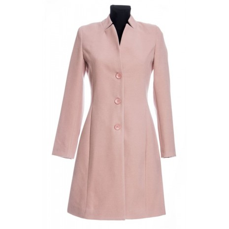 Женское розовое пальто RINASCIMENTO 70204