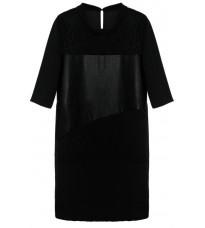 Черное прямое платье RINASCIMENTO 82002