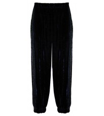 Синие велюровые брюки RINASCIMENTO 15293