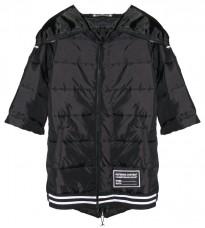 Прямая черная куртка RINASCIMENTO 82707