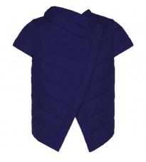 Синяя укороченная куртка RINASCIMENTO 78165