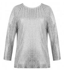 Стильный серебряный пуловер RINASCIMENTO 8092