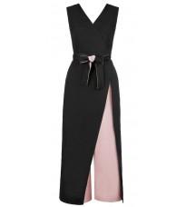 Черный комбинезон с розовыми вставками RINASCIMENTO 82090