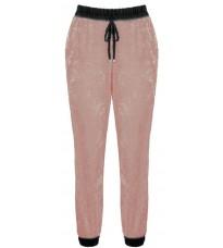 Розовые брюки на резинке RINASCIMENTO 82638