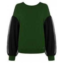 Зеленая футболка с длинными рукавами RINASCIMENTO 83418