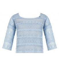 Укороченная блуза с кружевом RINASCIMENTO 80101