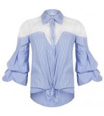 Стильная рубашка с кружевом RINASCIMENTO 80262