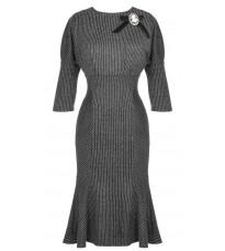 Платье в полоску с декором RINASCIMENTO 15129