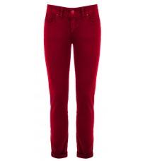 Бордовые прямые брюки RINASCIMENTO 81592