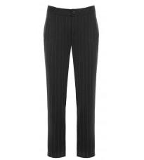 Серые прямые брюки в полоску RINASCIMENTO 81652