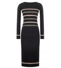 Трикотажное платье с полосами RINASCIMENTO 8179