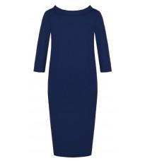 Синее свободное платье RINASCIMENTO 81964