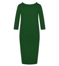 Зеленое свободное платье RINASCIMENTO 81964