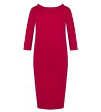 Красное свободное платье RINASCIMENTO 81964