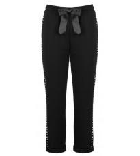 Серые брюки с бусинами RINASCIMENTO 82231