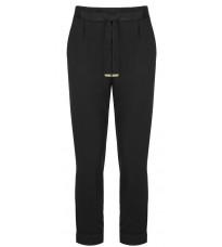 Черные укороченные брюки RINASCIMENTO 82258