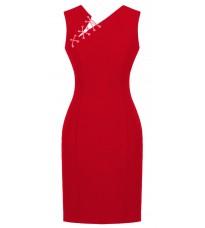 Стильное красное платье RINASCIMENTO 82458