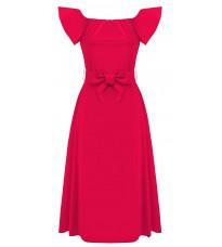 Яркое платье с бантом RINASCIMENTO 80872