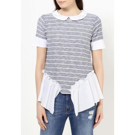 Стильная футболка в полоску RINASCIMENTO 79097