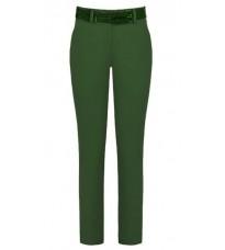 Прямые брюки цвета хаки RINASCIMENTO 78870