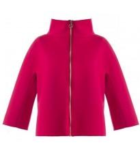 Укороченное малиновое пальто RINASCIMENTO 79226
