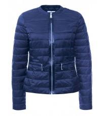 Синяя приталенная куртка RINASCIMENTO 75157