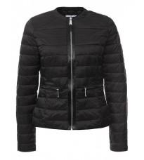 Черная приталенная куртка RINASCIMENTO 75157