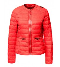 Красная приталенная куртка RINASCIMENTO 75157