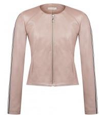 Розовая куртка с контрастными вставками RINASCIMENTO 85030