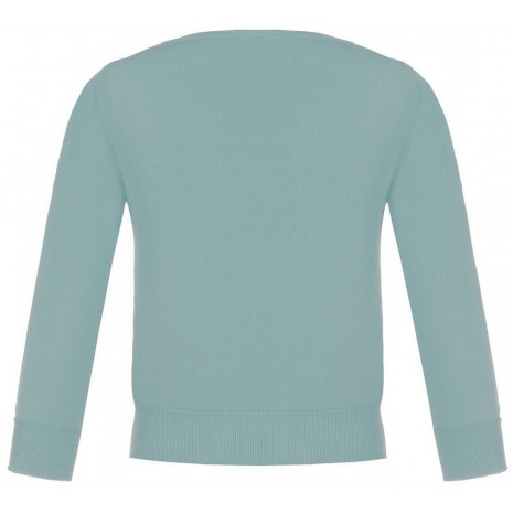 Стильный голубой джемпер RINASCIMENTO 8555