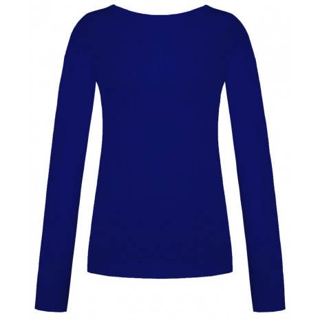 Стильный синий джемпер RINASCIMENTO 8559