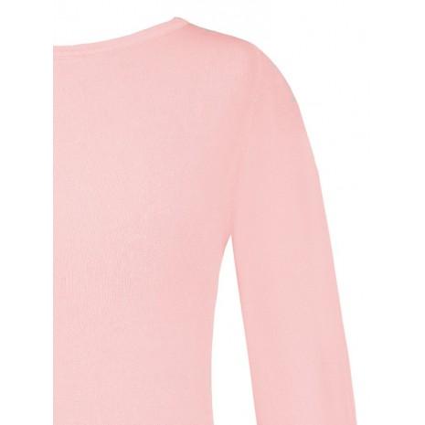 Стильный розовый джемпер RINASCIMENTO 8559