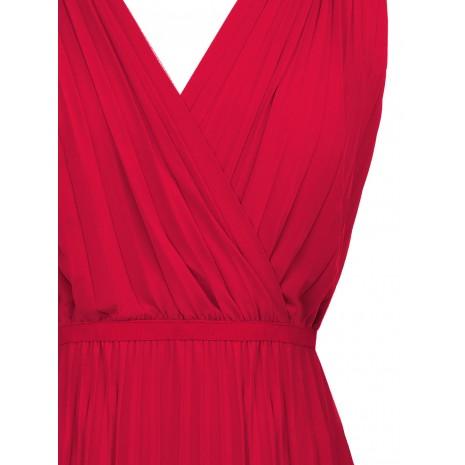 Яркое плиссированное платье RINASCIMENTO 86823