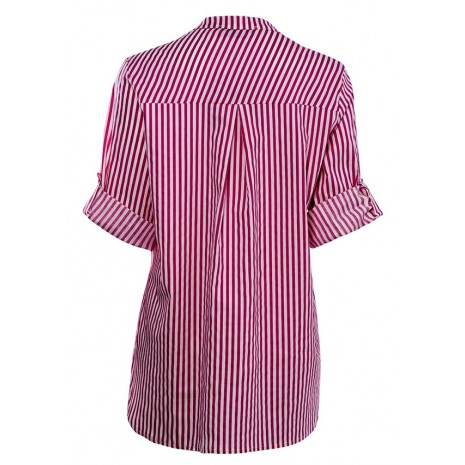 Блуза в полоску с принтом RINASCIMENTO 85613