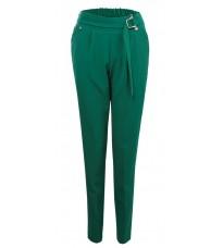 Зеленые прямые брюки с поясом  RINASCIMENTO 85975