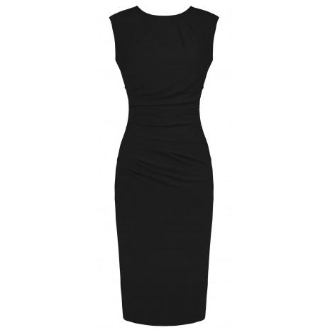 Стильное черное платье RINASCIMENTO 85237