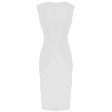 Стильное белое платье RINASCIMENTO 85237