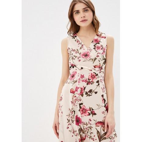 Длинное платье с цветочным принтом RINASCIMENTO 85980