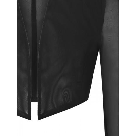 Черный укороченный жакет RINASCIMENTO 86331