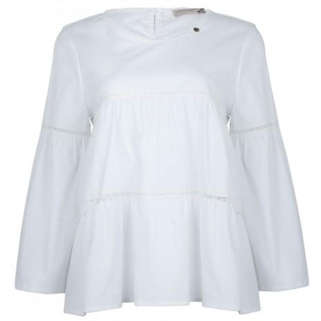 Белая свободная блуза RINASCIMENTO 86062