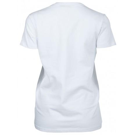 Белая футболка с декором RINASCIMENTO 15855