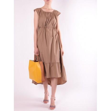 Длинное бежевое платье RINASCIMENTO 15790