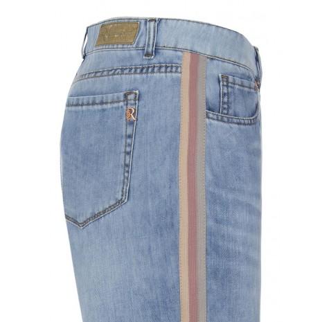 Синие джинсы с лампасами RINASCIMENTO 84654