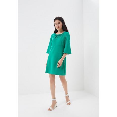 Зеленое платье с бантом RINASCIMENTO 85026