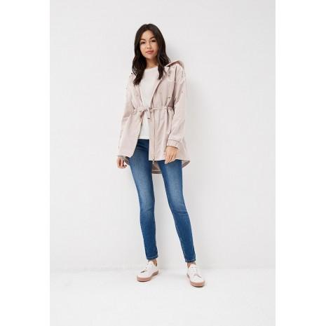 Розовое пальто с бусинами RINASCIMENTO 85431