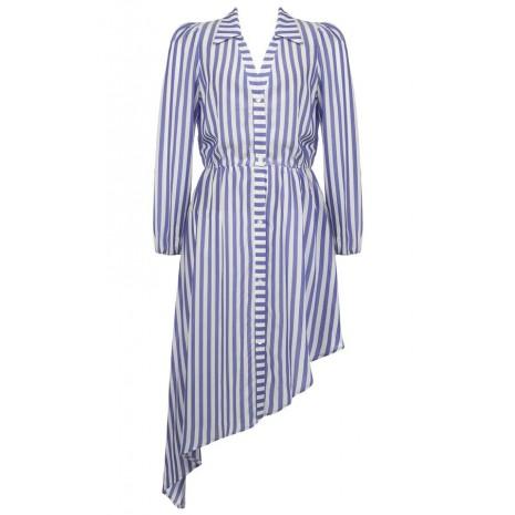 Асимметричное платье в полоску RINASCIMENTO 86502