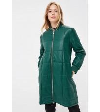 Зеленое стеганное пальто RINASCIMENTO 88568