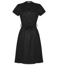 Черное платье с поясом RINASCIMENTO 87916